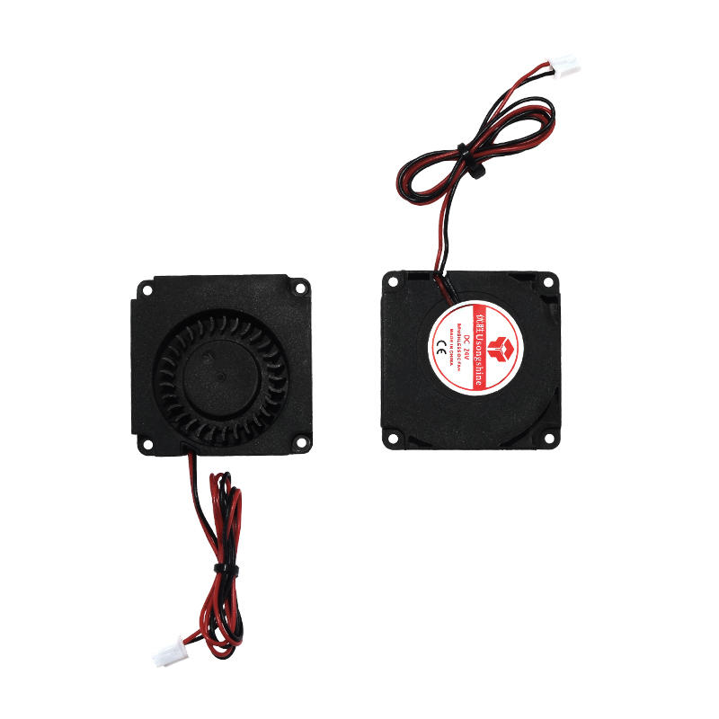 TWO TREES® 2pcs 12V/24V 4010 Blower 40x40x10mm Brushless Cooling Fan with Air Guide Nozzle for 3D Printer