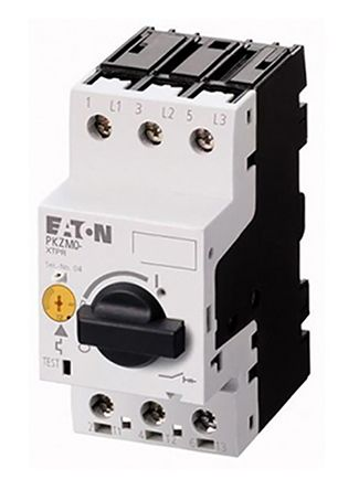 Eaton 690 V ac Motor Protection Circuit Breaker - 3P Channels, 1 → 1.6 A, 25 A@ 250 V dc, 32 A@ 690 V ac