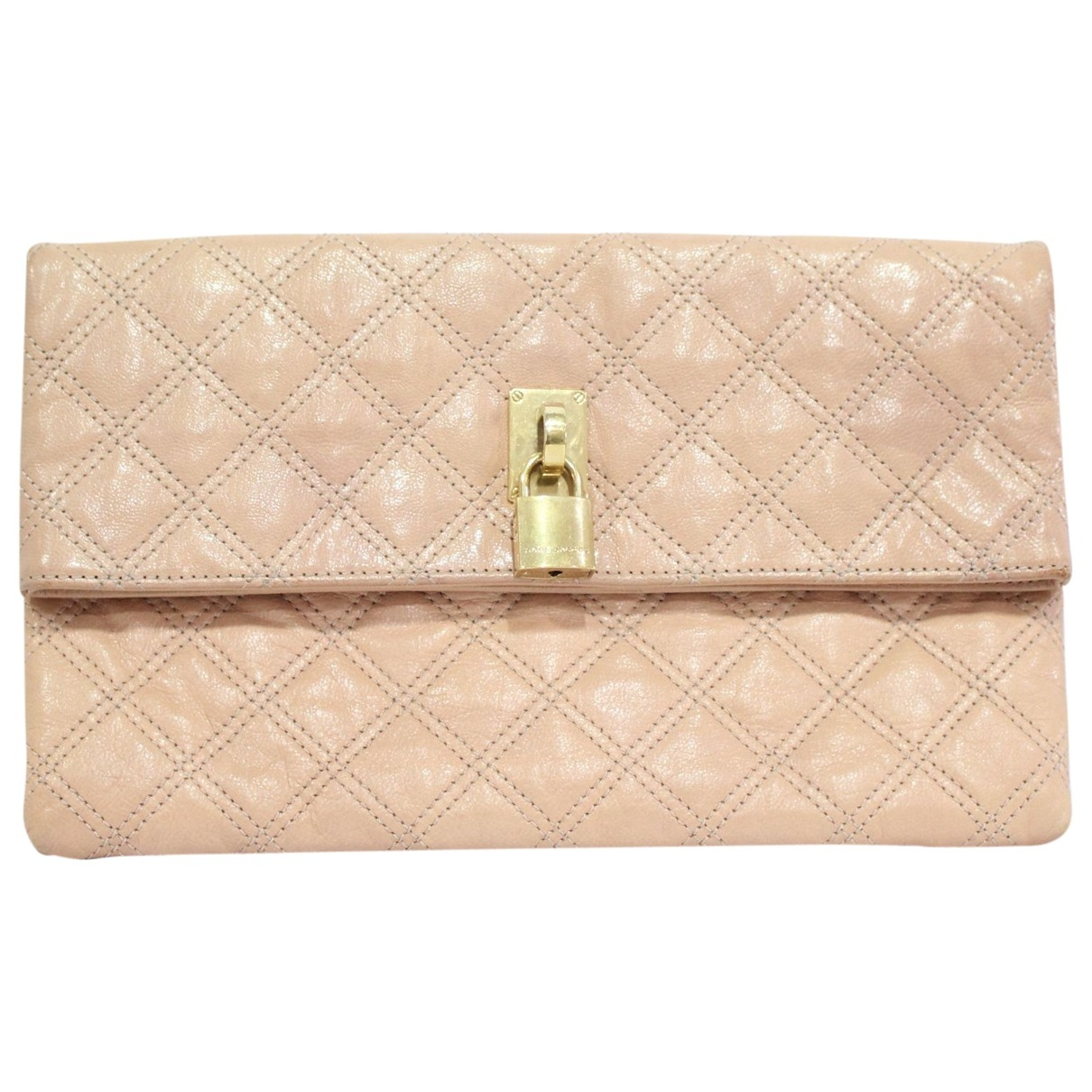 Marc Jacobs \N Pink Leather Clutch bag for Women \N