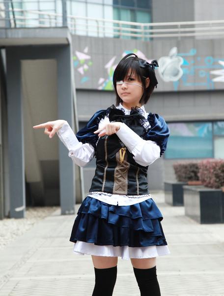 Milanoo Love, Chunibyo & Other Delusions Chuunibyou Demo Koi Ga Shitai Takanashi Rikka Halloween Cosplay Costume Lolita Dress Halloween