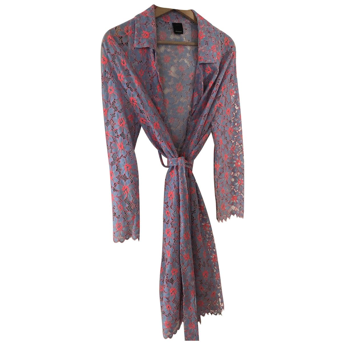 Pinko - Veste   pour femme en coton - multicolore