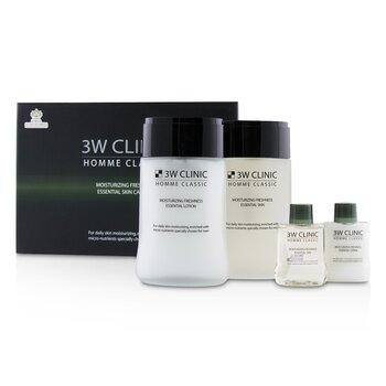 Homme Classic - Moisturizing Freshness Essential Skin Care Set