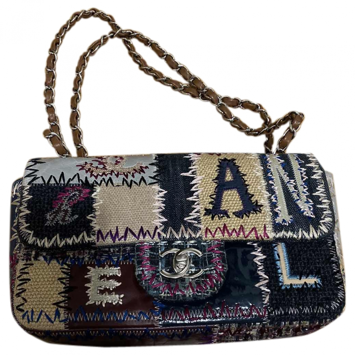Chanel Timeless/Classique Multicolour Cloth handbag for Women \N