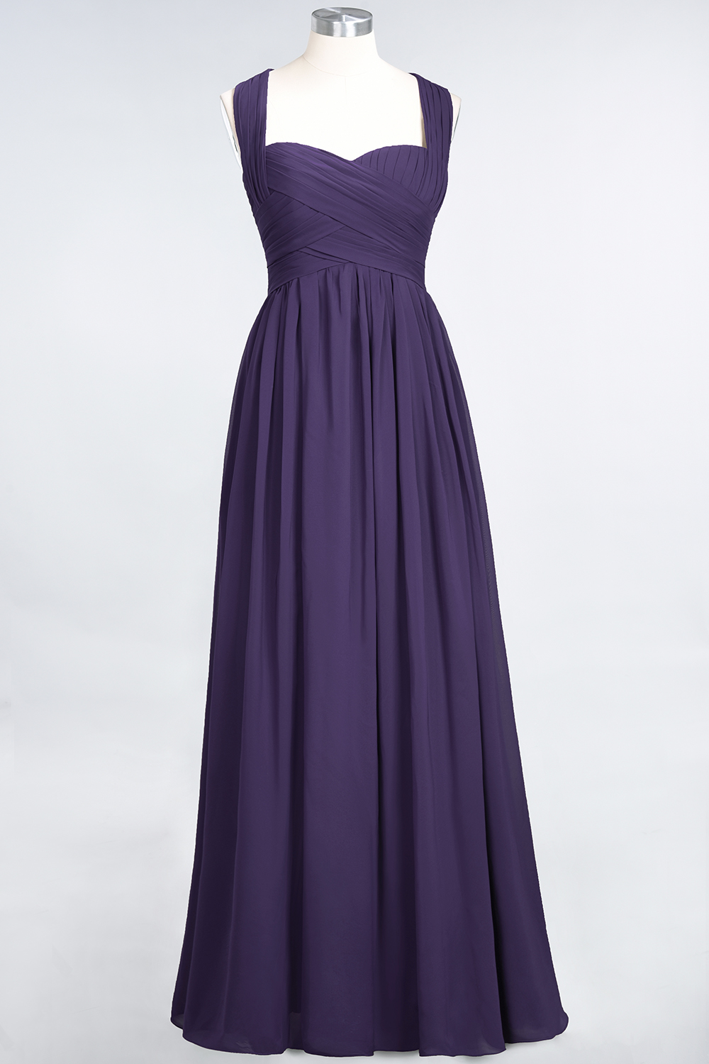 BMbridal Chic Tiered Sweetheart Cap-Sleeves Bungurdy Bridesmaid Dresses