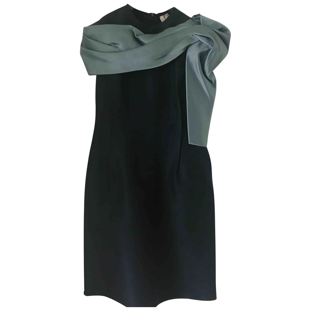 Lanvin \N Blue Silk dress for Women 38 FR