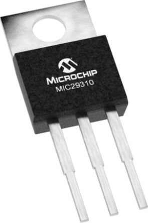 Microchip MIC29310-5.0WU, LDO Regulator, 3A, 5 V, ±2% 3-Pin, D2PAK (50)