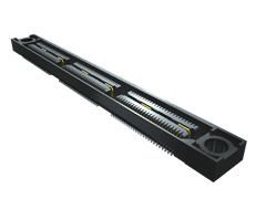 Samtec , QSS 0.63mm Pitch 50 Way 2 Row Straight PCB Socket, Surface Mount, Solder Termination (450)