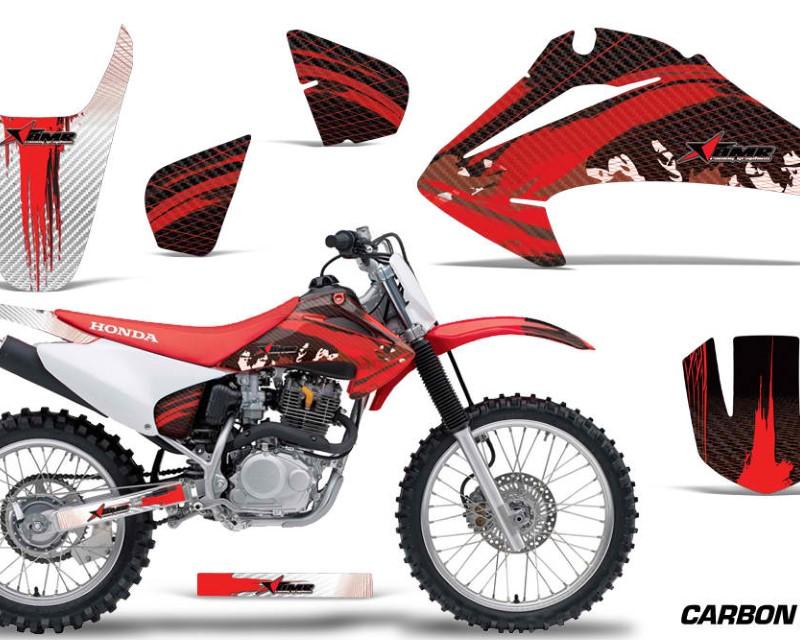 AMR Racing Dirt Bike Graphics Kit Decal Wrap For Honda CRF150 | CRF230F 2003-2007áCARBONX RED