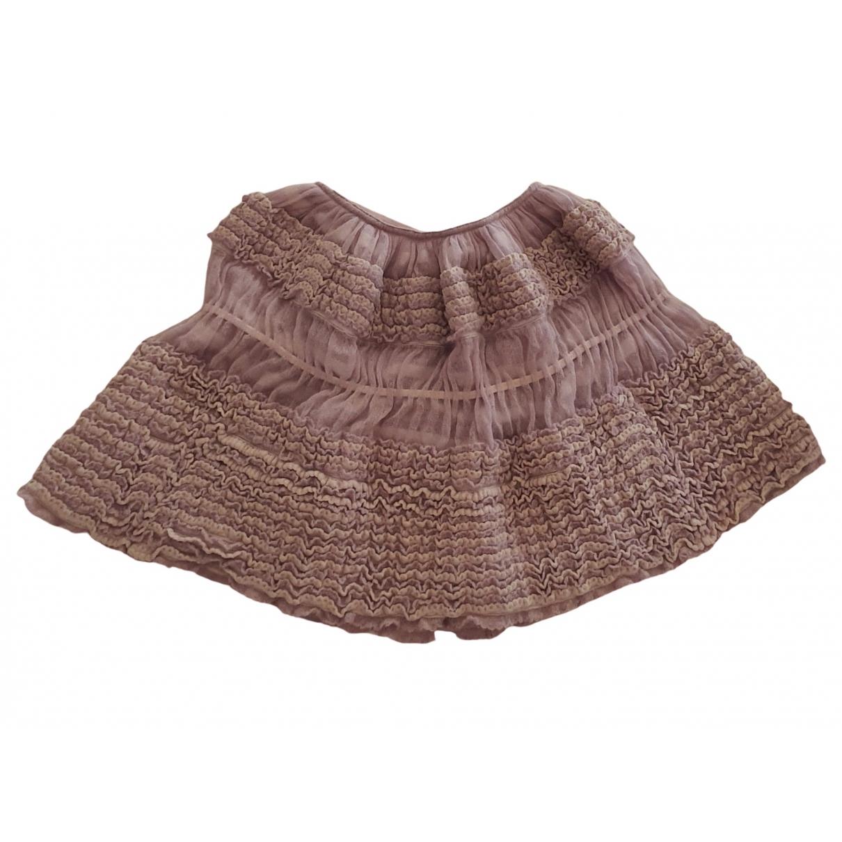 Alaia - Jupe   pour femme en laine - violet