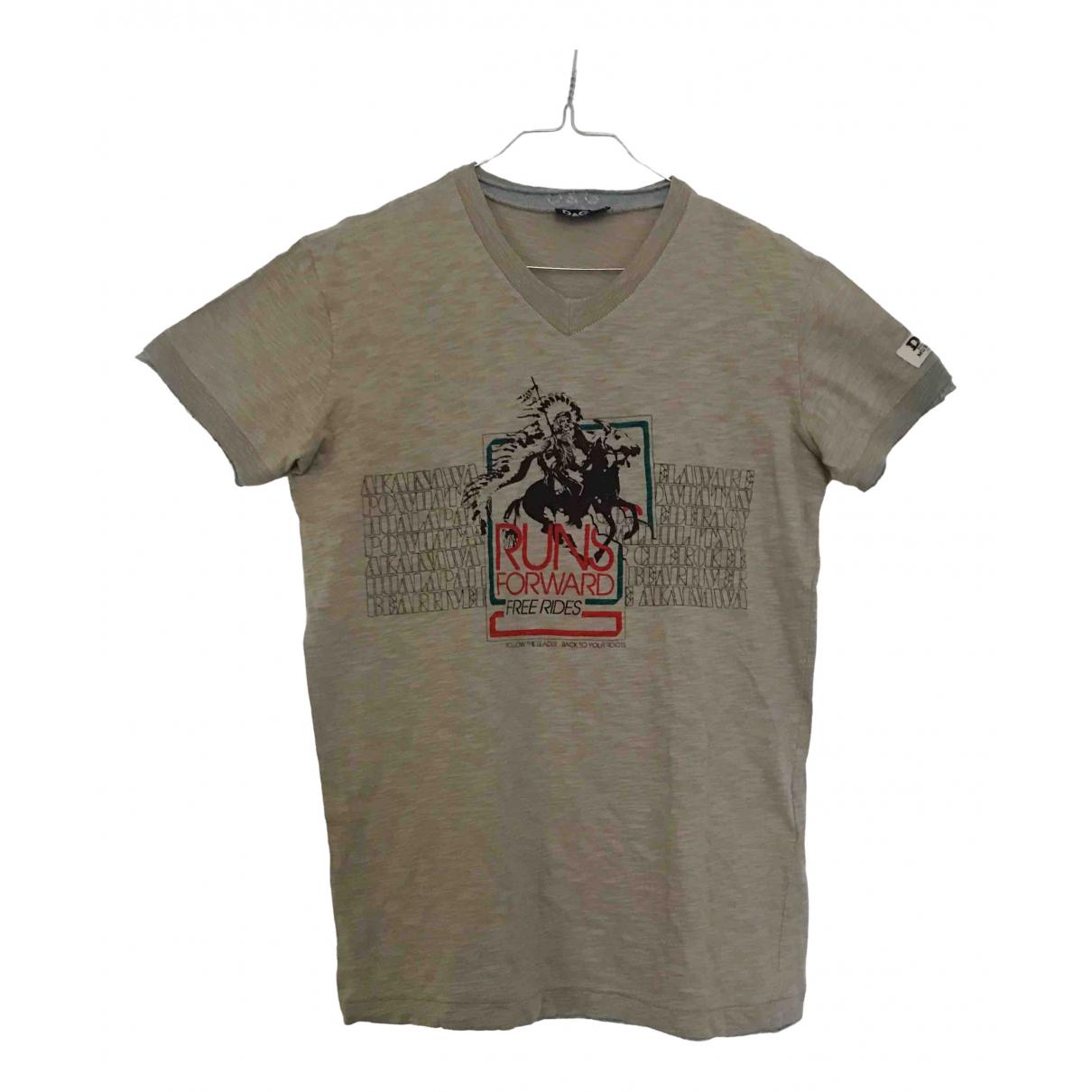 D&g \N Grey Cotton T-shirts for Men M International