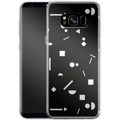 Samsung Galaxy S8 Silikon Handyhuelle - My Favourite Pattern 3 von Mareike Bohmer