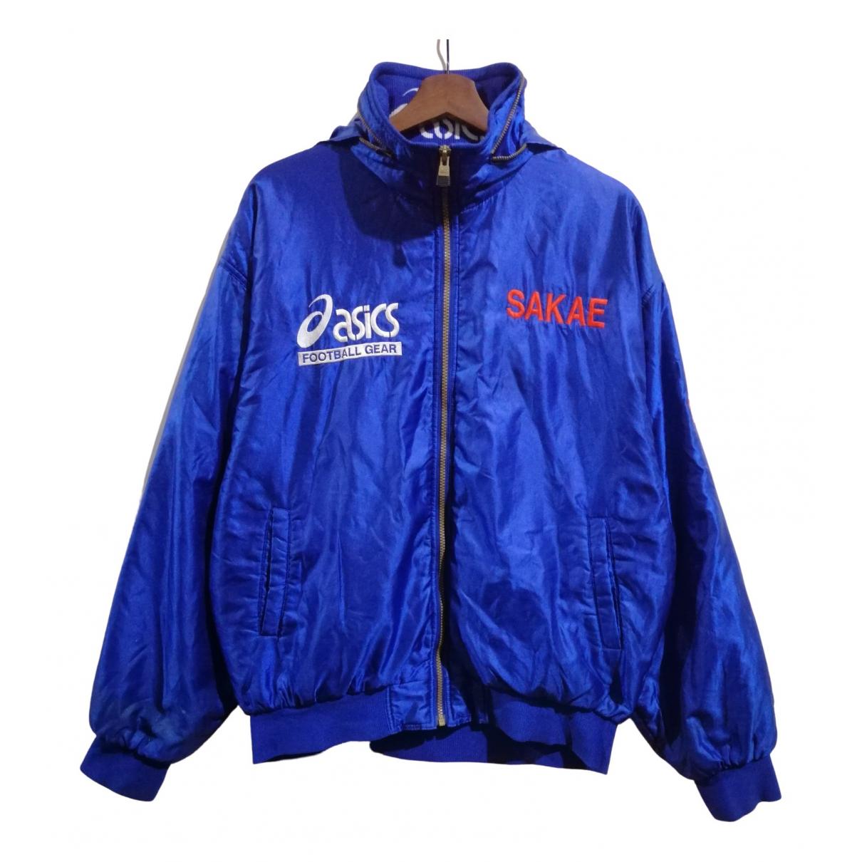Asics \N Jacke in  Blau Polyester