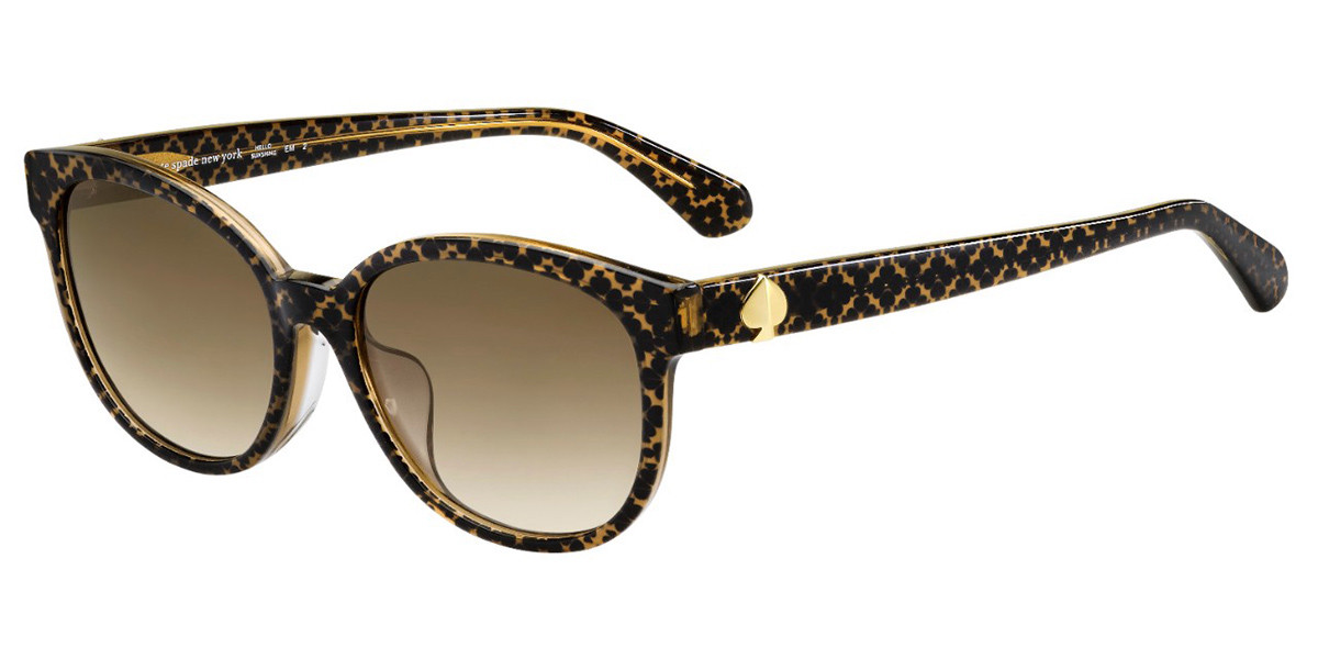 Kate Spade Emaleigh/F/S Asian Fit 09Q/HA Women's Sunglasses Tortoise Size 55