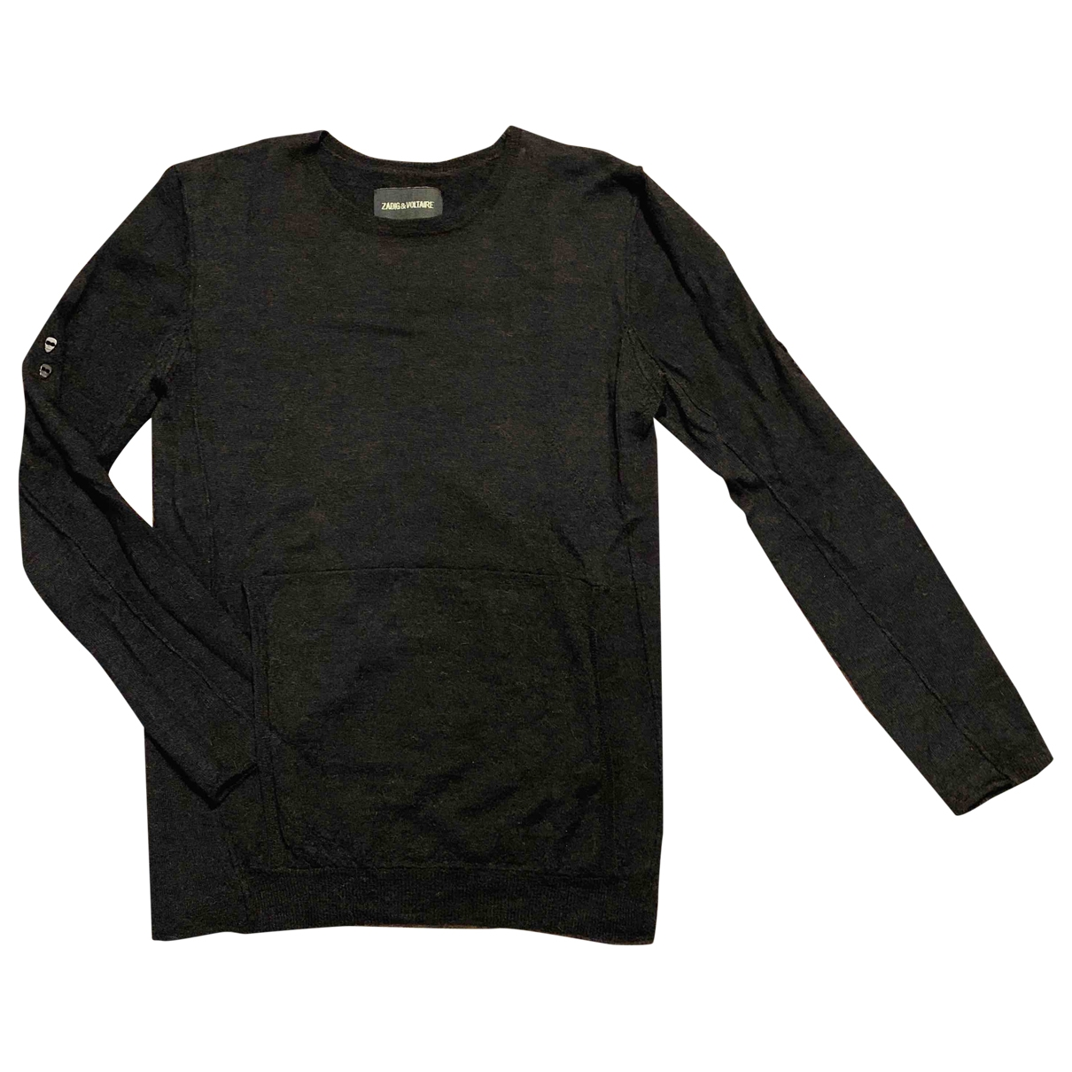 Zadig & Voltaire \N Pullover in  Anthrazit Wolle