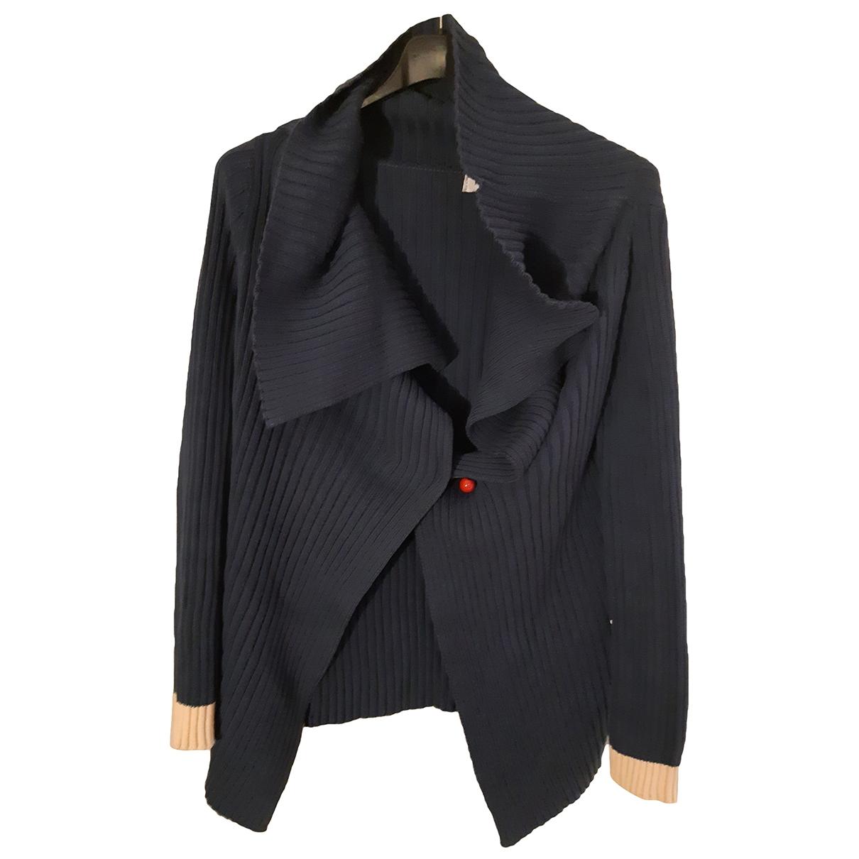 Moschino Love \N Pullover in  Blau Baumwolle