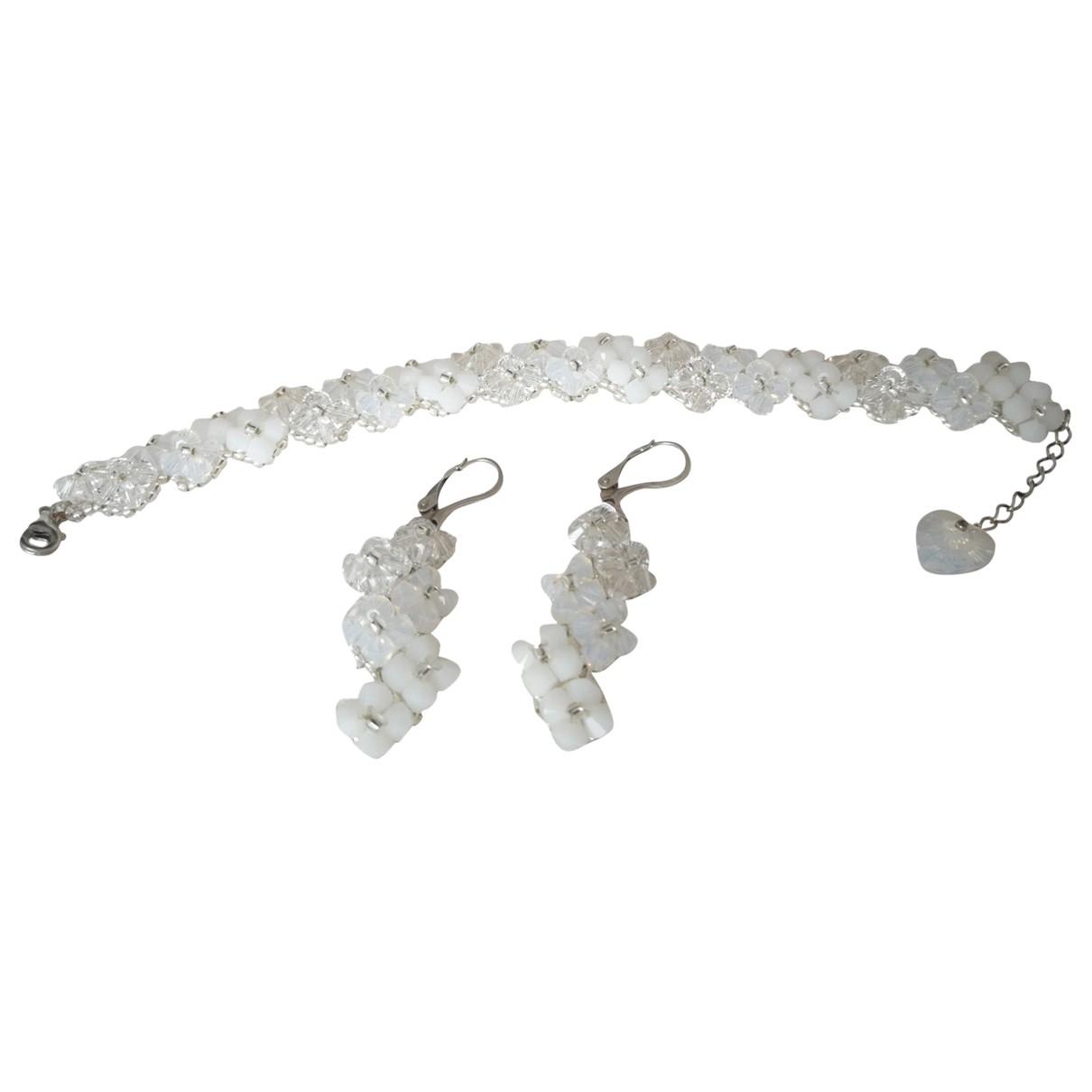 Swarovski - Parure   pour femme en cristal - blanc