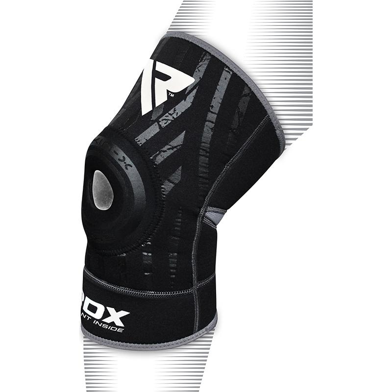 RDX K2 Support de Genou Petite/Moyenne Noir Neoprene
