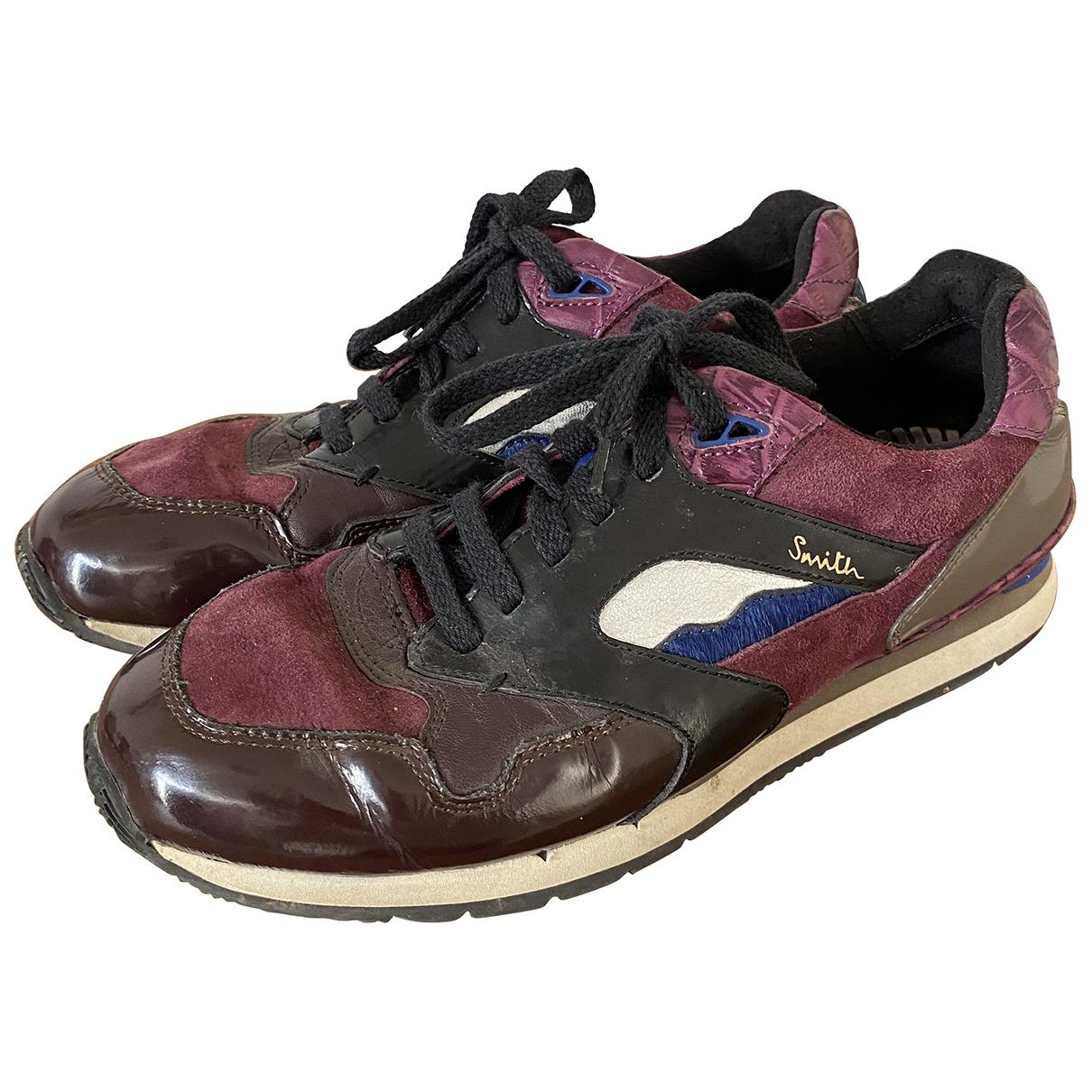 Paul Smith \N Sneakers in  Lila Leder
