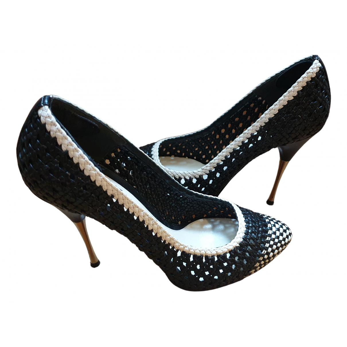 Alexander Mcqueen N Leather Heels for Women 39 EU