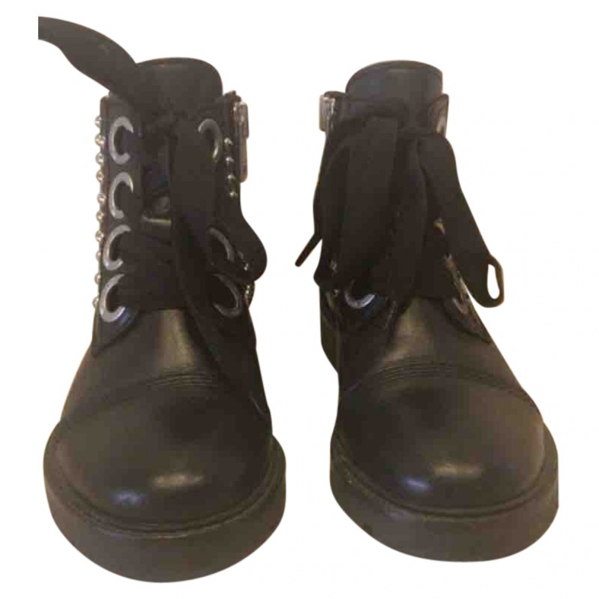Zadig & Voltaire \N Black Leather Boots for Women 36 EU