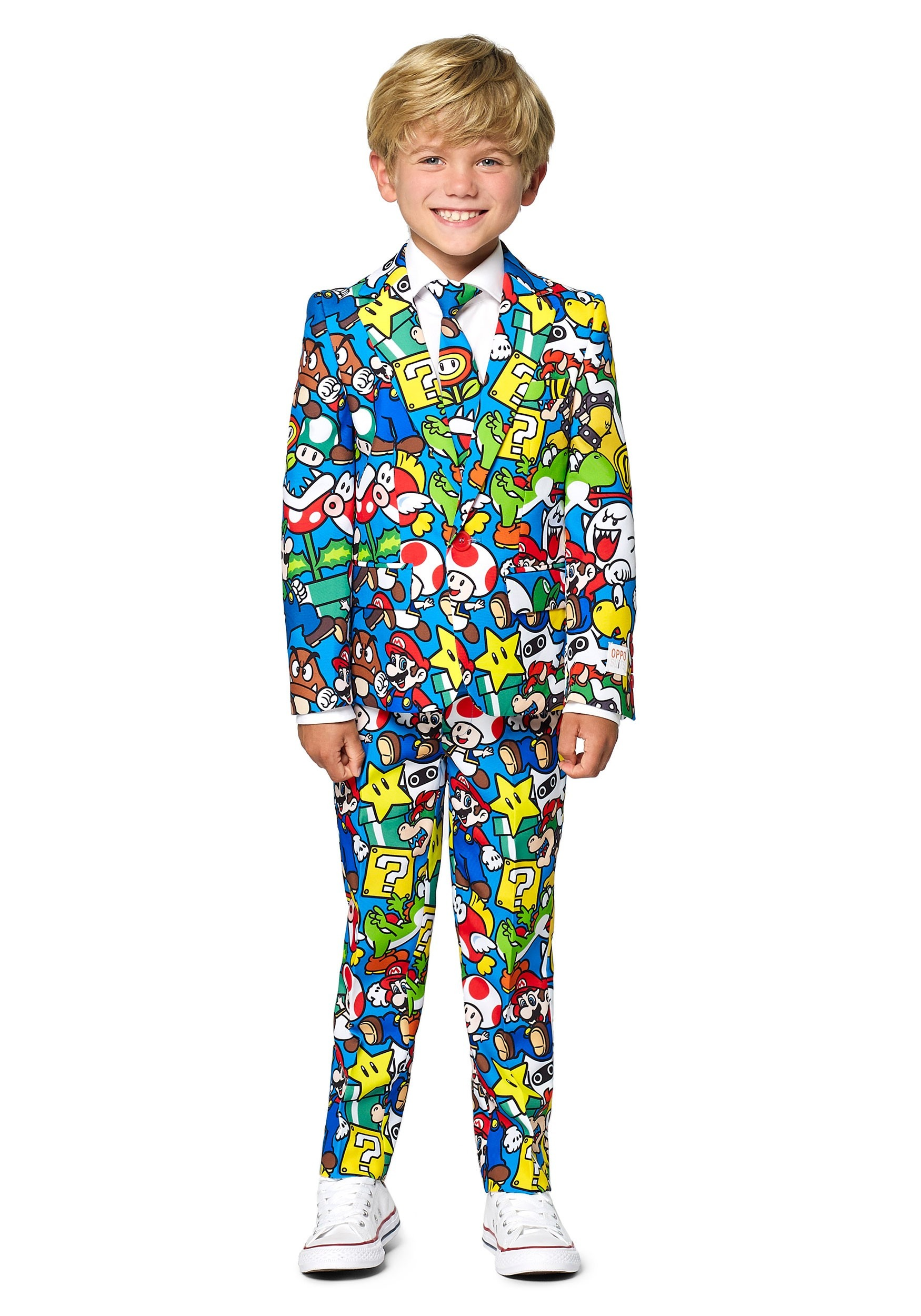 Opposuit Super Mario Suit for Boys