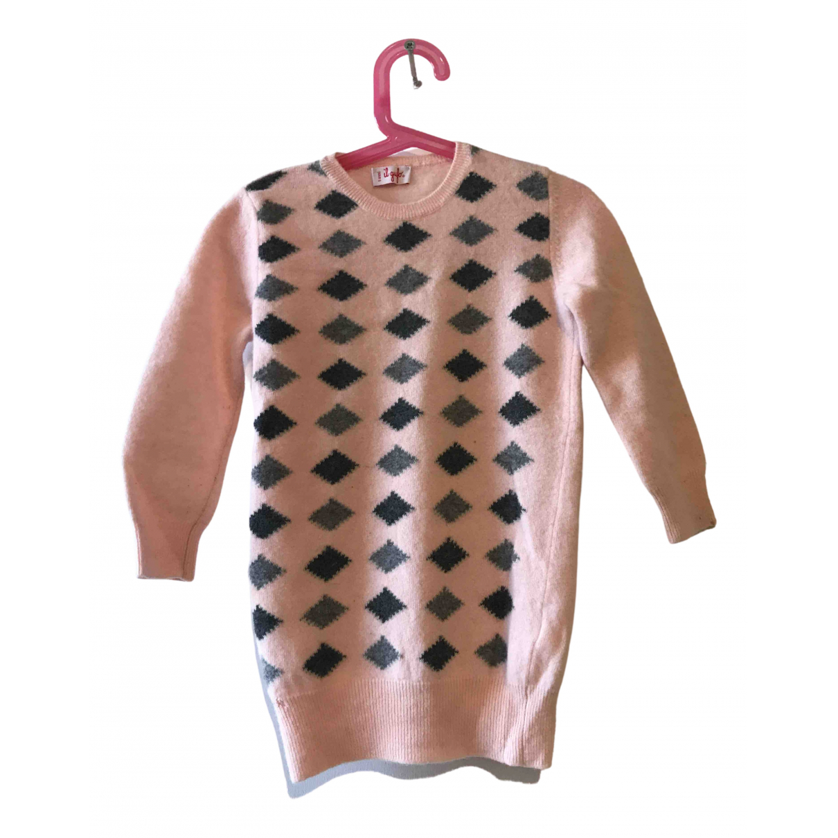 Il Gufo N Pink Wool Knitwear for Kids 5 years - up to 108cm FR