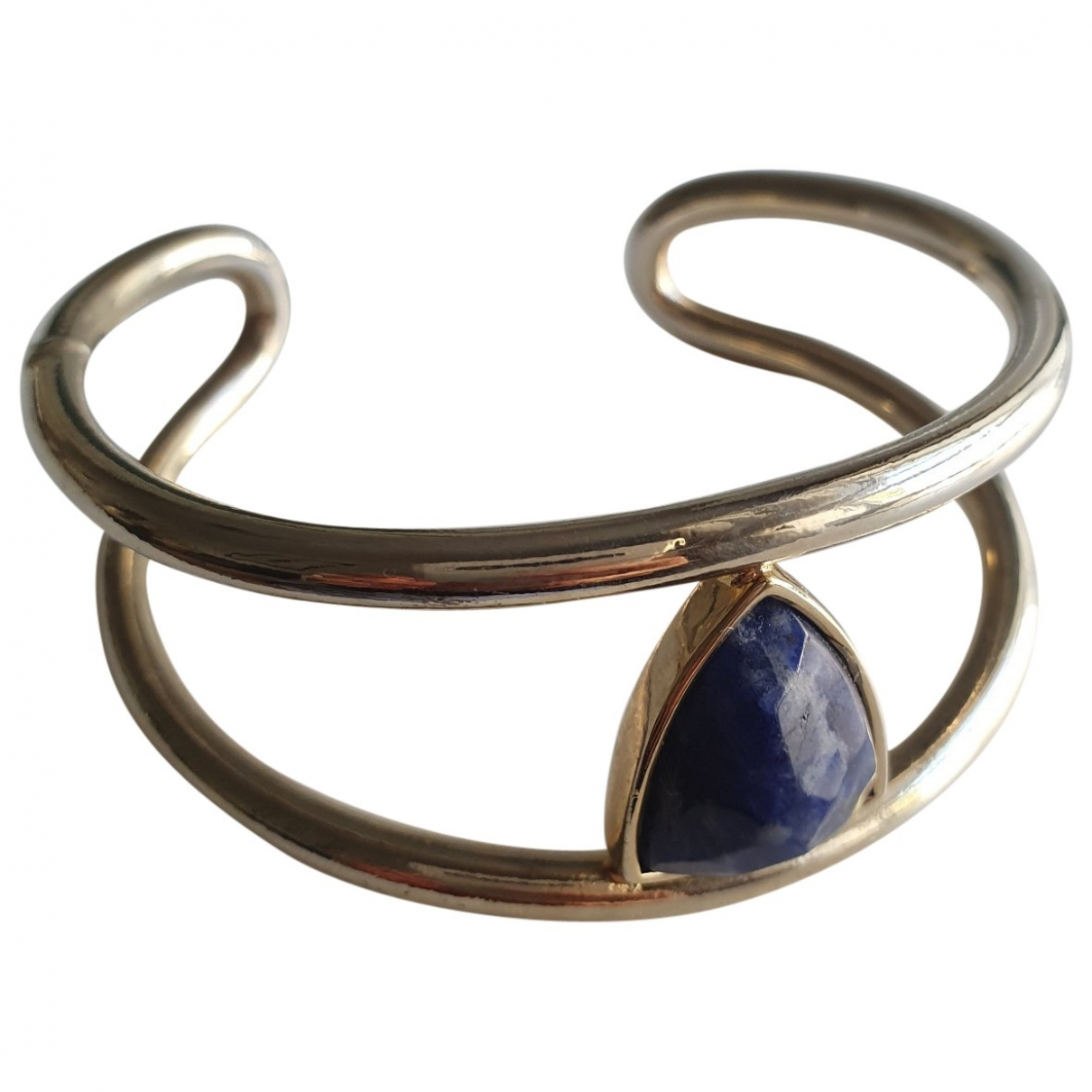 Uterque - Bracelet   pour femme en metal - dore