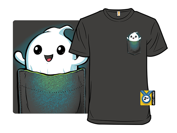 Pocket Ghost T Shirt