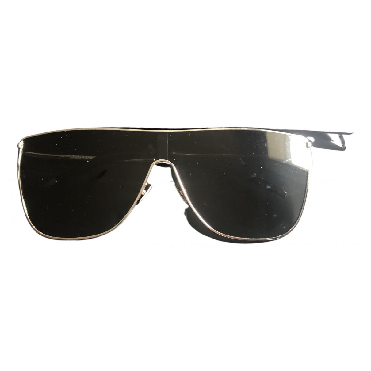 Saint Laurent \N Silver Metal Sunglasses for Women \N