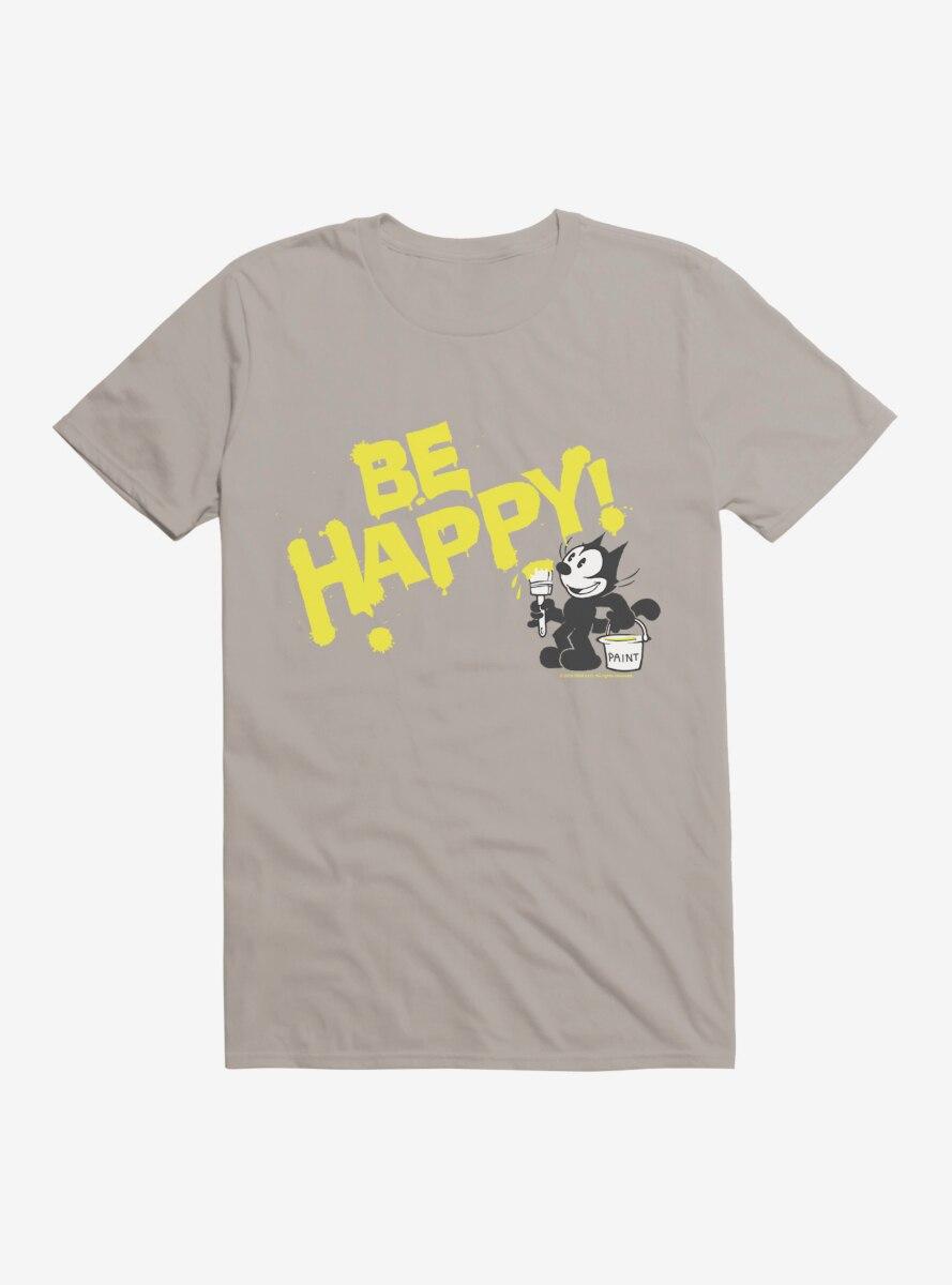 Felix The Cat Be Happy! Paint T-Shirt