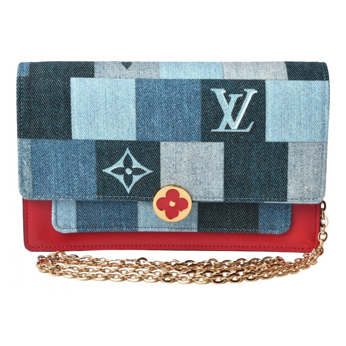 Louis Vuitton Flore chain Multicolour Denim - Jeans handbag for Women \N