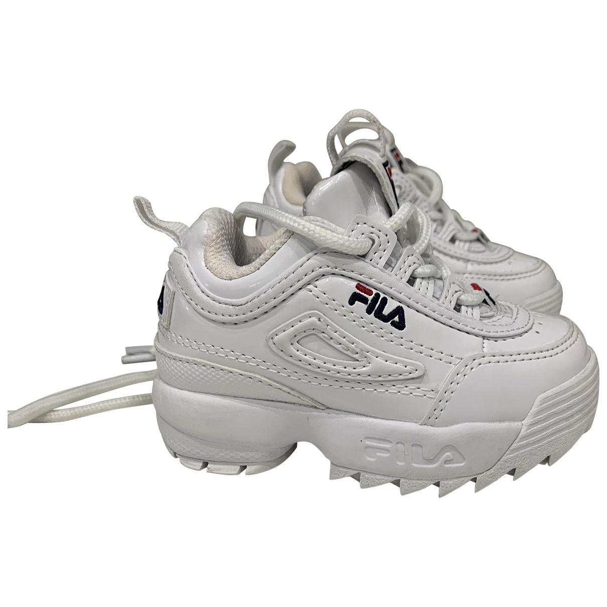 Fila \N White Rubber Trainers for Kids 20 EU