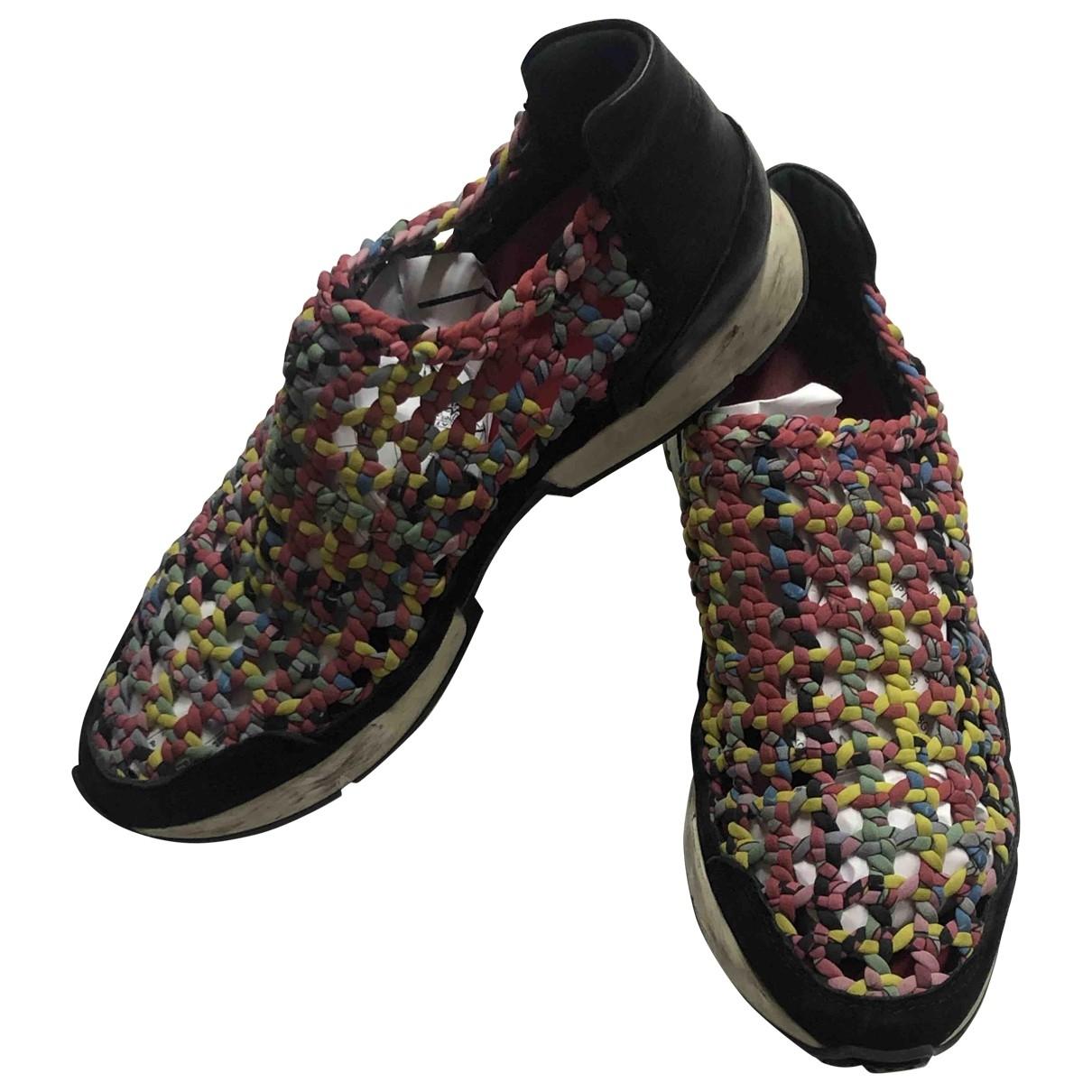Hermes \N Sneakers in  Bunt Leinen