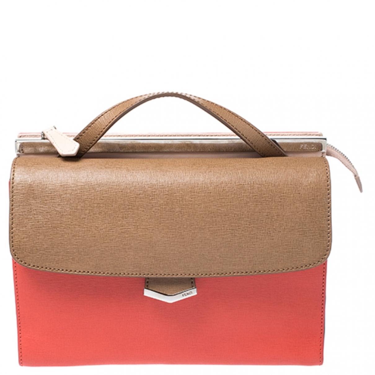 Fendi Demi Jour  Multicolour Leather handbag for Women \N
