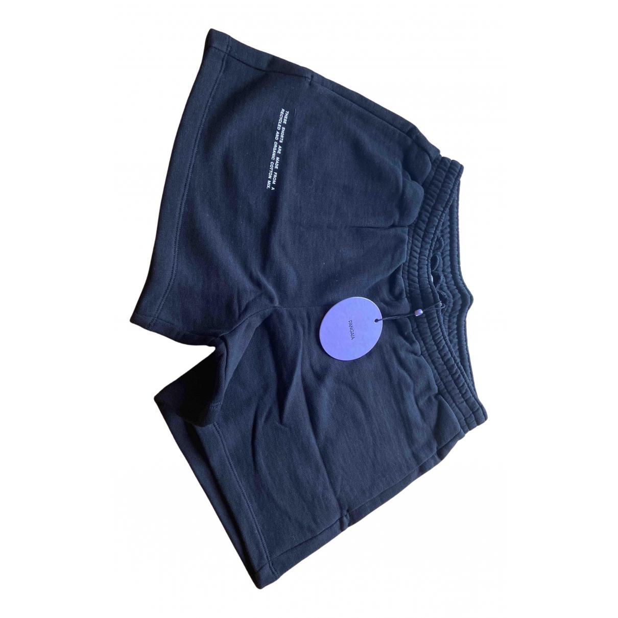 The Pangaia \N Shorts in  Schwarz Baumwolle