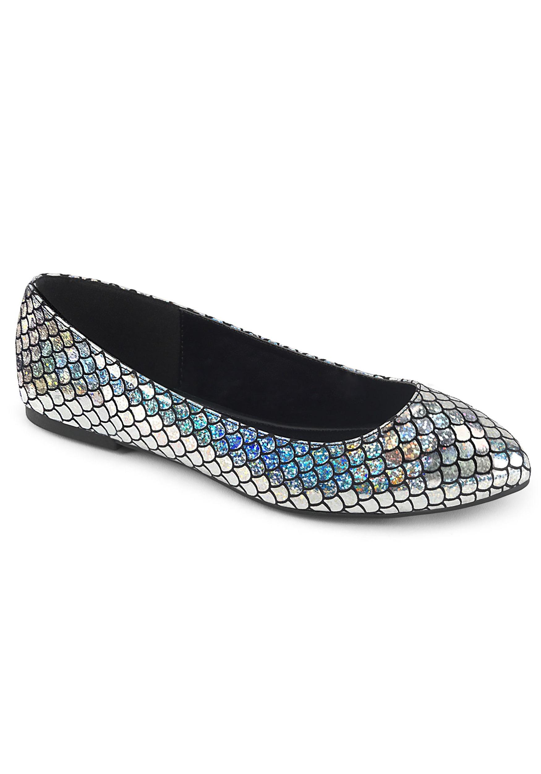 Silver Mermaid Women's Shoes