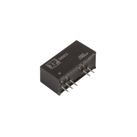 XP Power IMM 2W Isolated DC-DC Converter Through Hole, Voltage in 9 → 18 V dc, Voltage out ±5V dc Medical