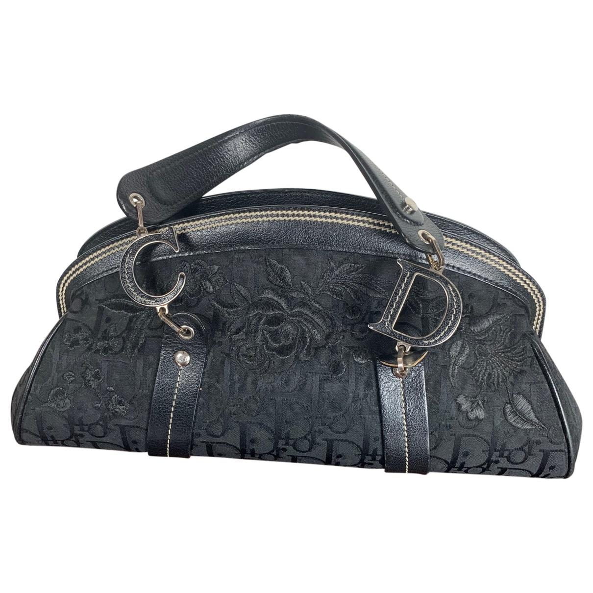 Dior Détective Black Cloth handbag for Women \N
