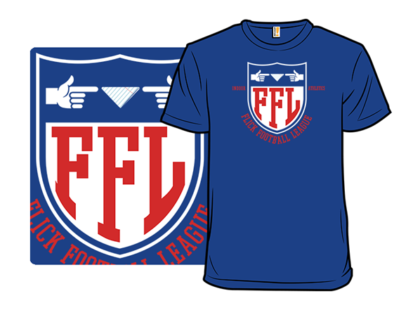 Flick Football League T Shirt