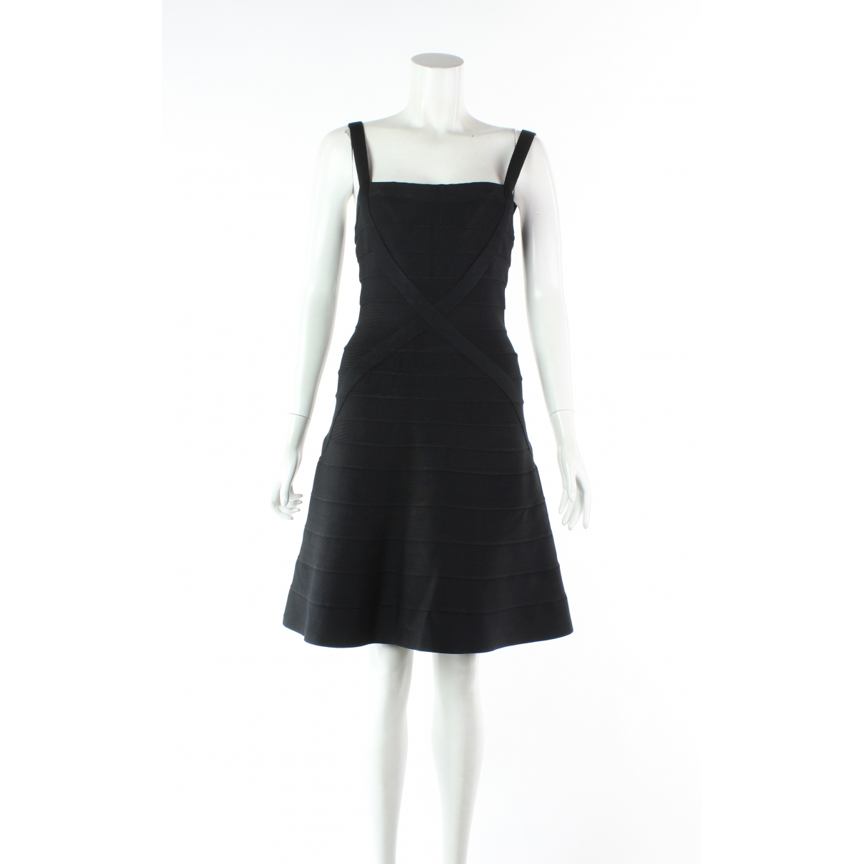 Herve Leger \N Black dress for Women M International