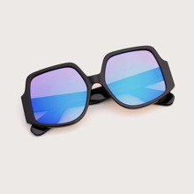 Sonnenbrille mit Acryl Rahmen und Farbverlauf