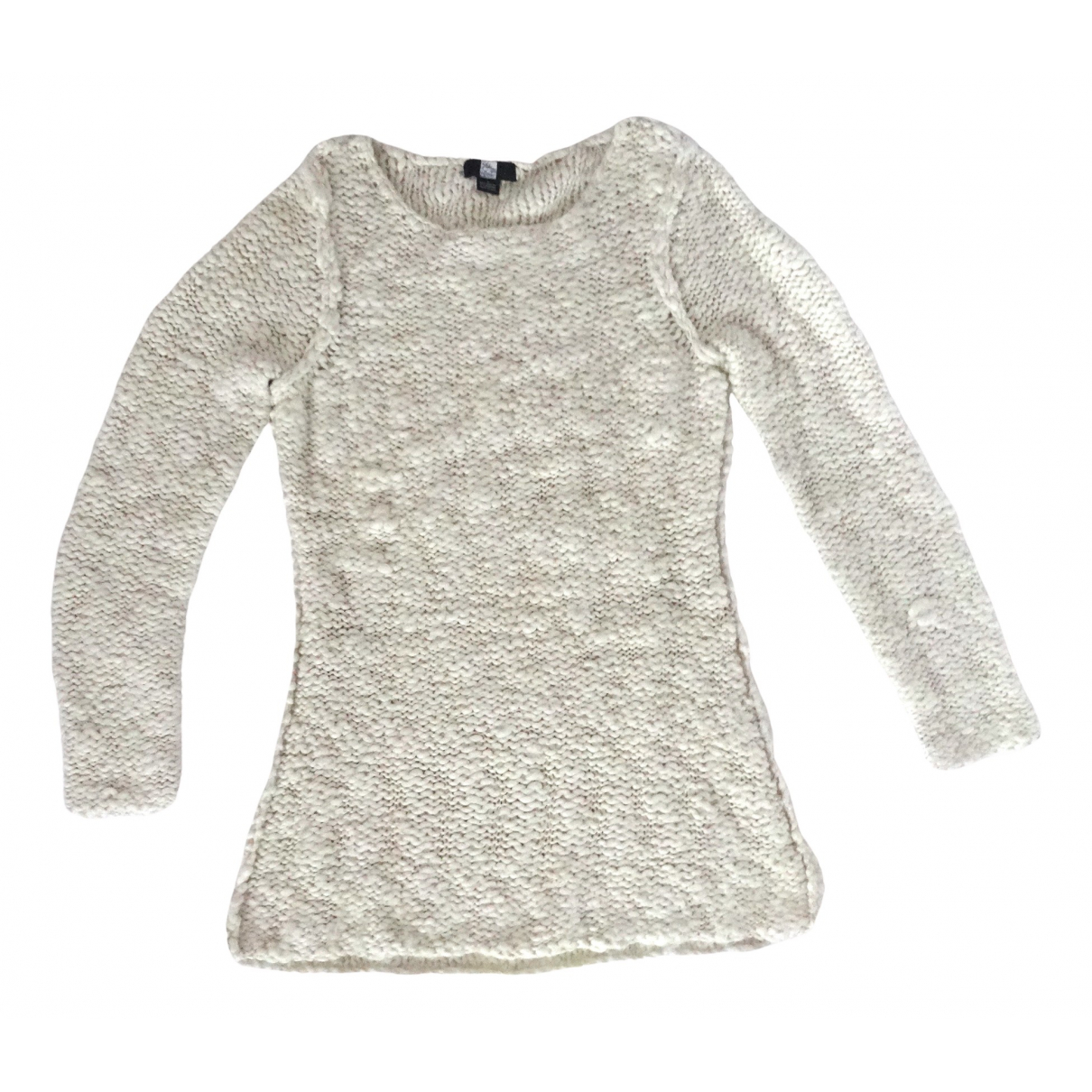Saks Fifth Avenue Collection \N White Knitwear for Women L International