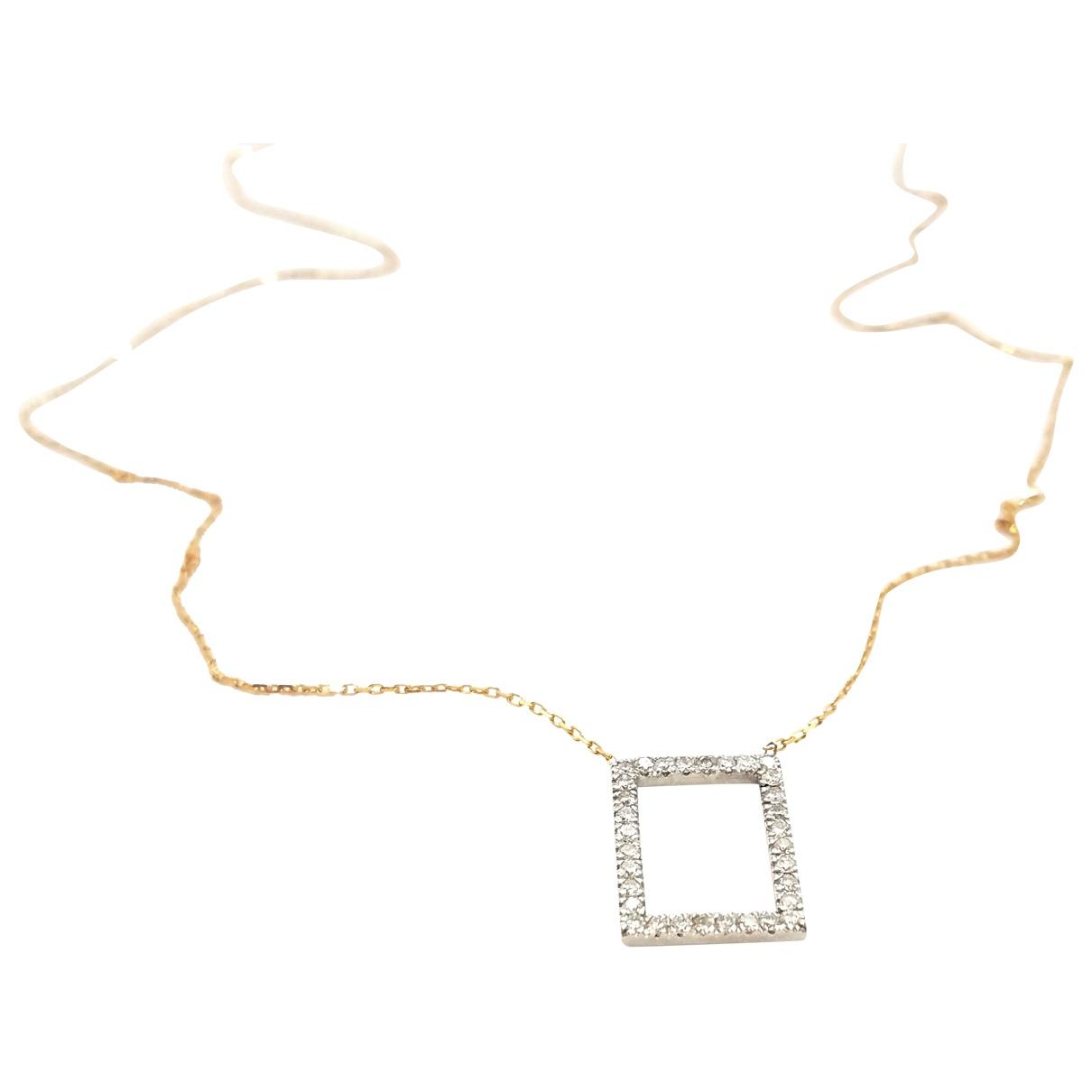 Autre Marque - Collier   pour femme en or blanc - dore