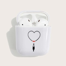 Heart Charging Airpods Case