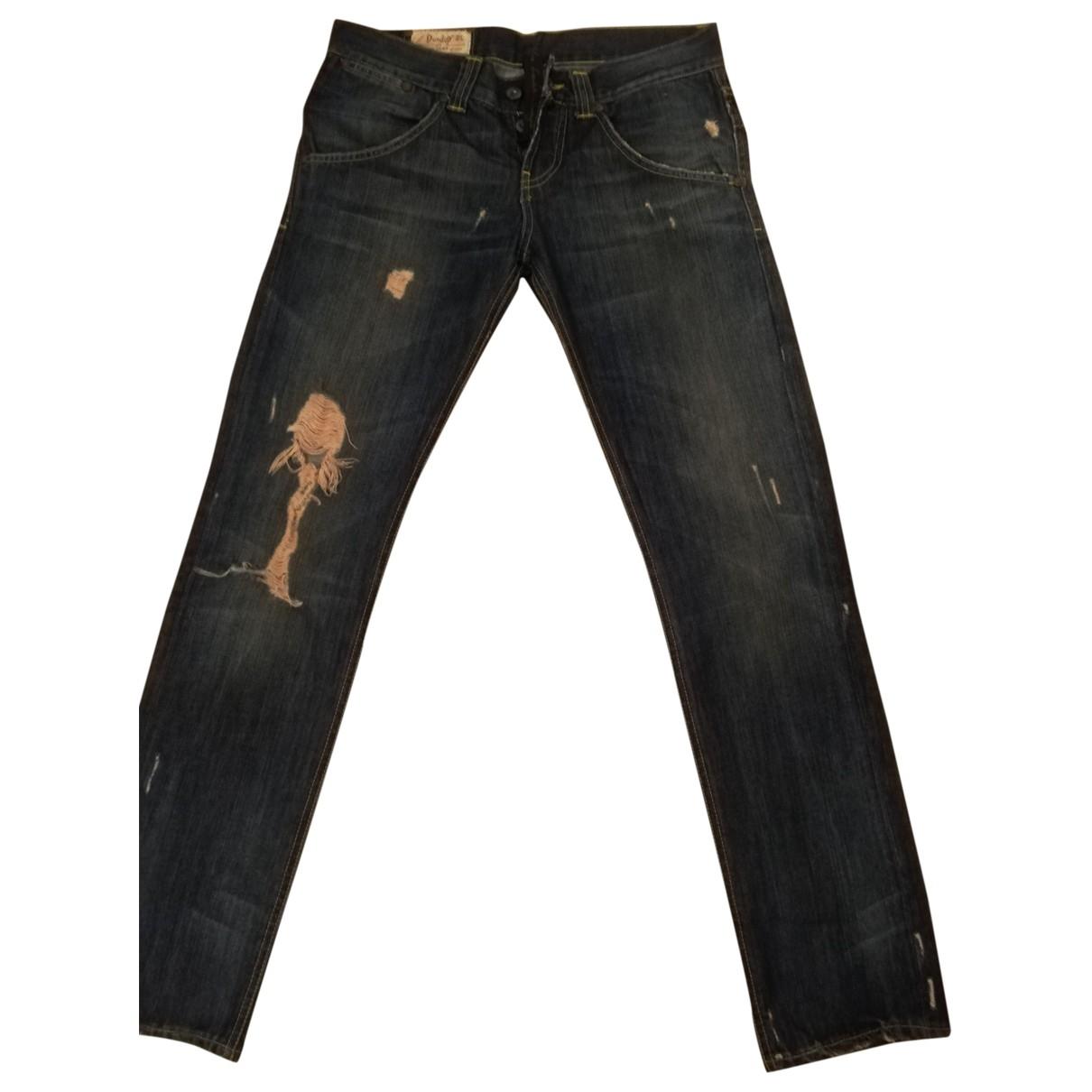 Dondup \N Blue Denim - Jeans Jeans for Women 42 FR