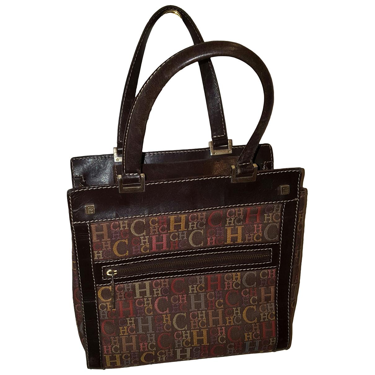 Carolina Herrera N Brown Leather handbag for Women N