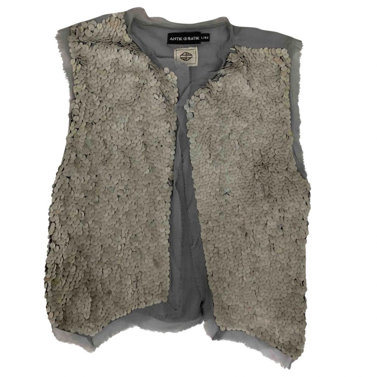 Antik Batik \N Grey Leather  top for Women 42 FR