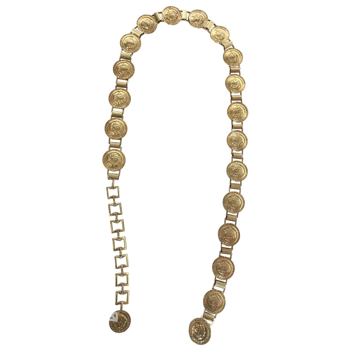 Gianni Versace \N Guertel in  Gold Metall