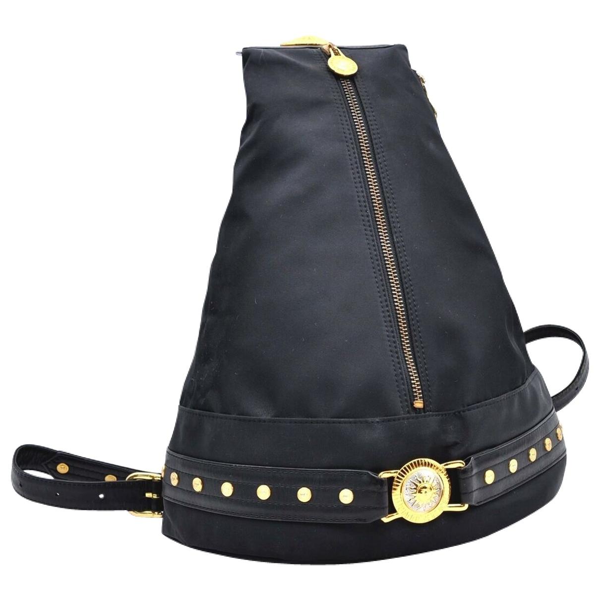 Versace \N Rucksaecke in  Schwarz Kunststoff