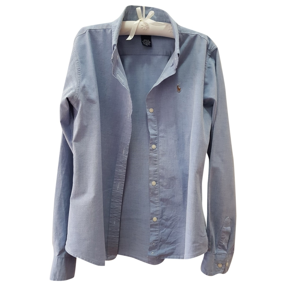 Polo Ralph Lauren \N Blue Cotton  top for Kids 20 years - XL FR